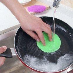 Myjka silikonowa - Zmywak do naczyń kuchenny - elastyczna gąbka