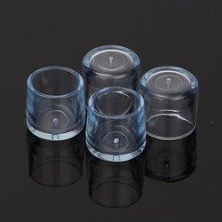 Nakładki ochronne na nogi meblowe - okrągłe 25mm - 4 szt - Osłona silikonowa na nóżki