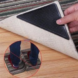 Podkładka antypoślizgowa pod dywan - samoprzylepna mata - 4 szt
