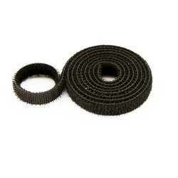 Rzep dwustronny 20mm x 1-mb czarny - opaska mocująca - organizer kabli
