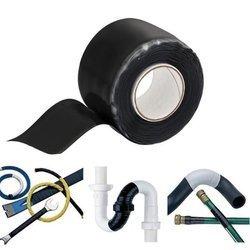 Taśma silikonowa do napraw i izolacji - czarna 1.5m - wodoodporna