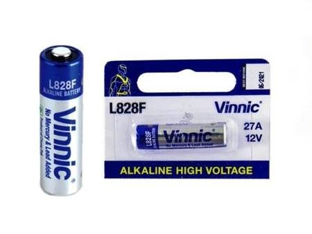 Bateria Alkaline Vinnic L828F 12V 27A - 1szt