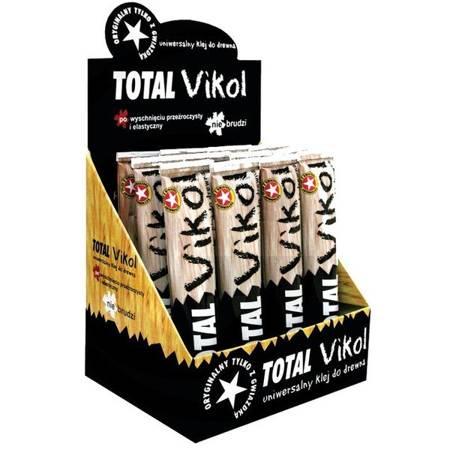 Klej TOTAL Vikol 40g - Uniwersalny klej do drewna