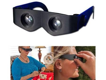 Okulary powiększające 4x - Lupa do czytania 400%